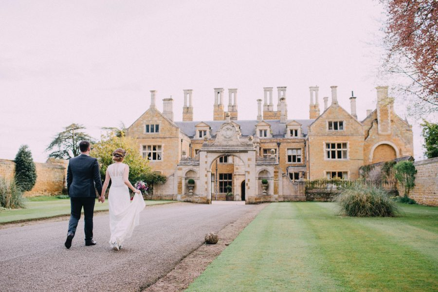 Holdenby House – surely one of the most wonderful wedding venues in the country!