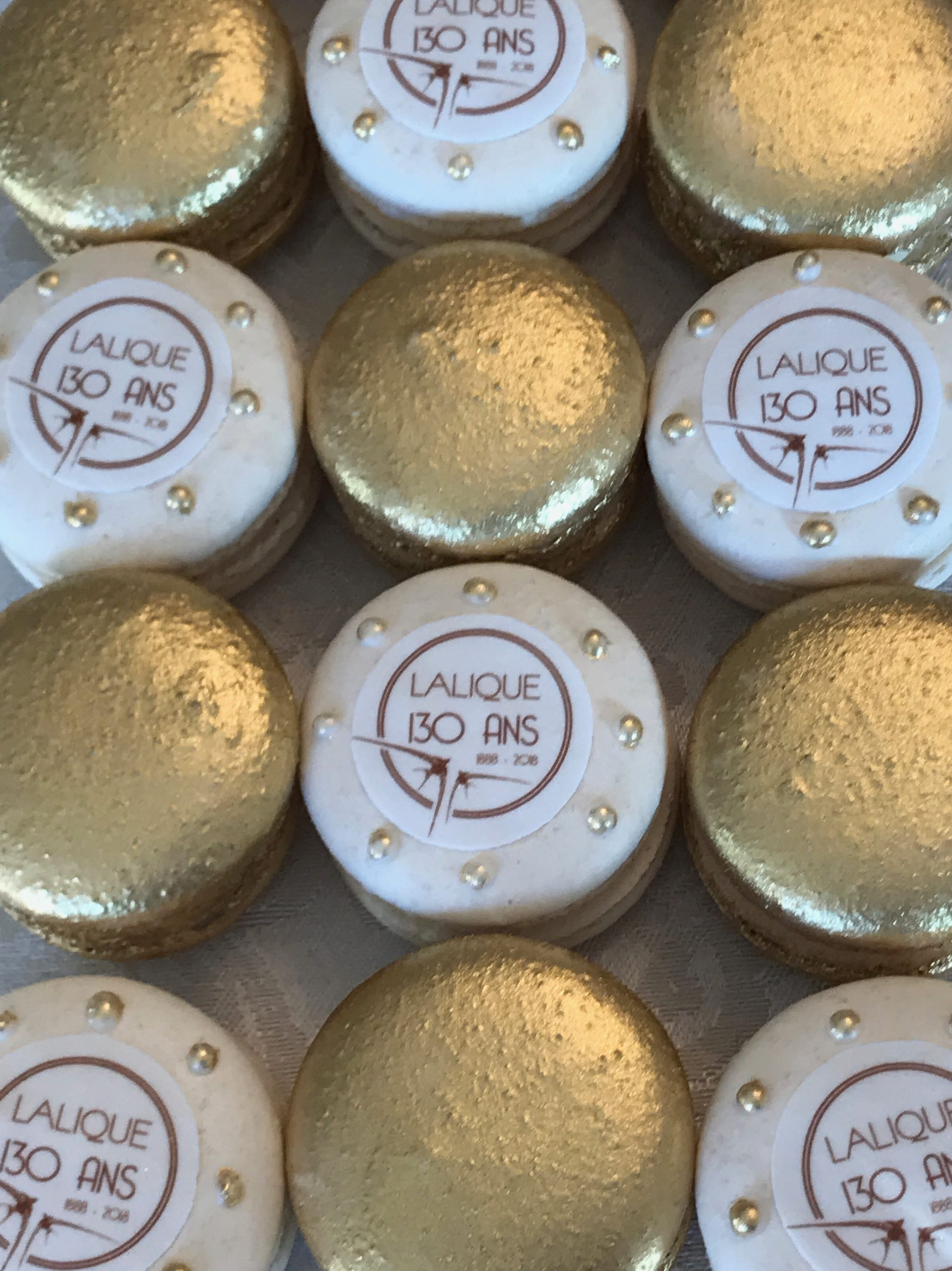Corporate Branded Macarons