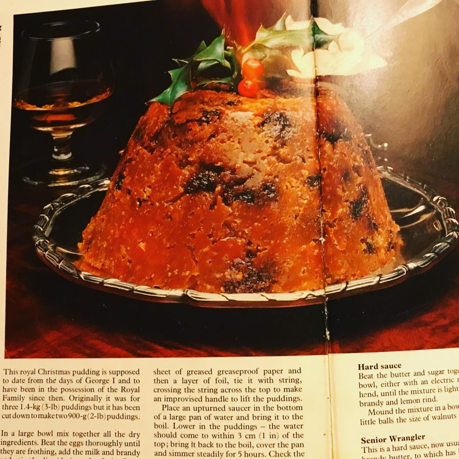 King George's Christmas Pudding Recipe!